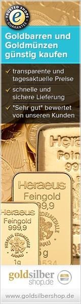 Goldbarren & -münzen