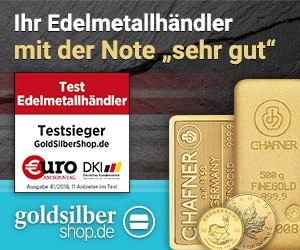 300 x 250 (Medium Rectangle)Gold und Silber zu gün