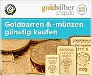180 x 150 (Rectangle) Goldbarren und -münzen günst