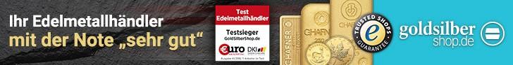 Banner GoldSilberShop Gold Silber